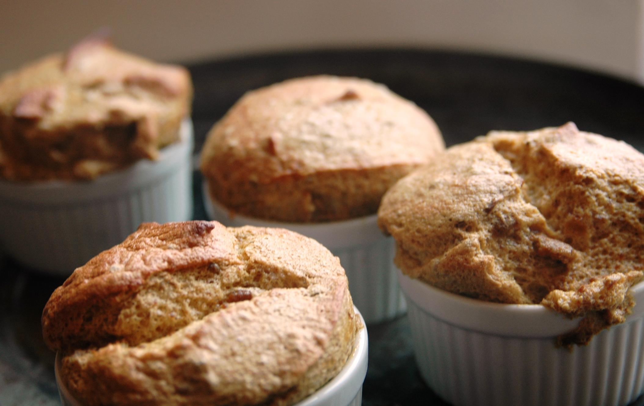 Pumpkin Pie Mini-Soufflés: More rich, less filling | hilary